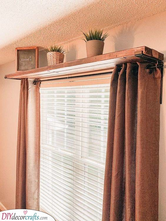 Above the Curtains - Storage Solutions for Small Bedrooms