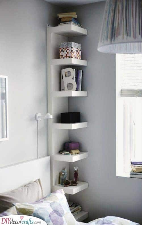 A Corner Shelf - Easy and Excellent