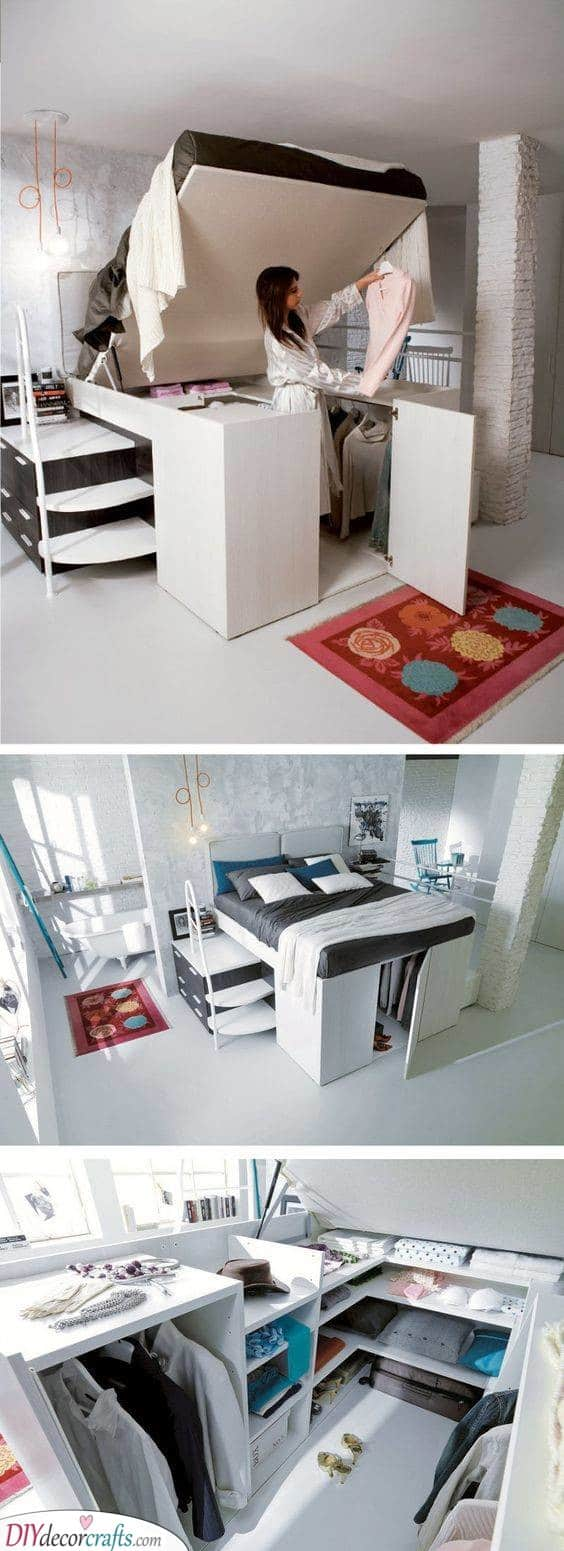 Underneath the Bed - Storage Solutions for Small Bedrooms
