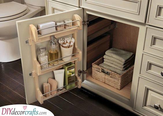 Closet Door Shelves - Practical and Simple