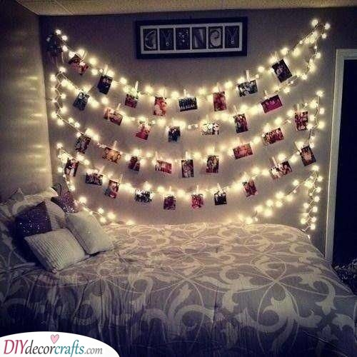Strings of Fairy Lights - With Memories
