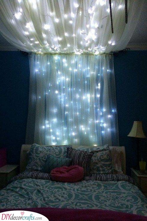 A Gorgeous Canopy - Best Lighting for Bedroom