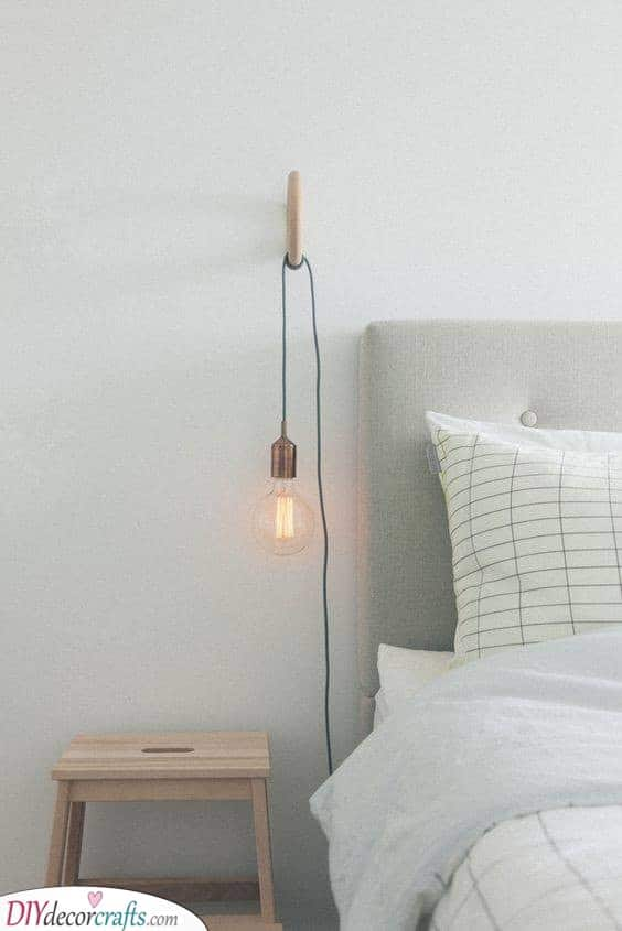 A Bedside Lamp - Unique and Creative