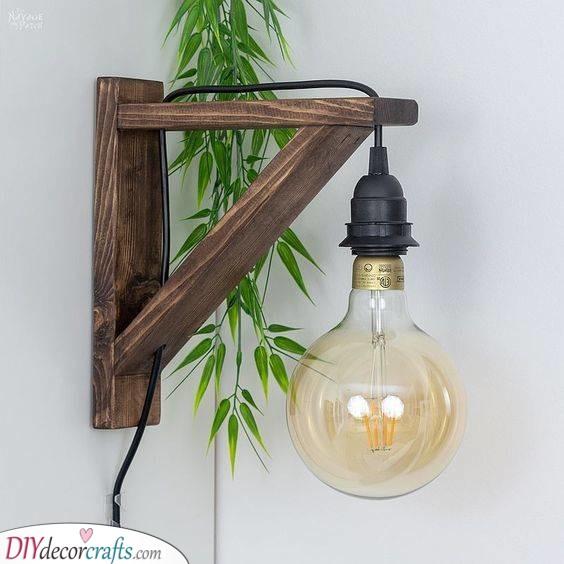 A Corbel Sconce Light - DIY Projects