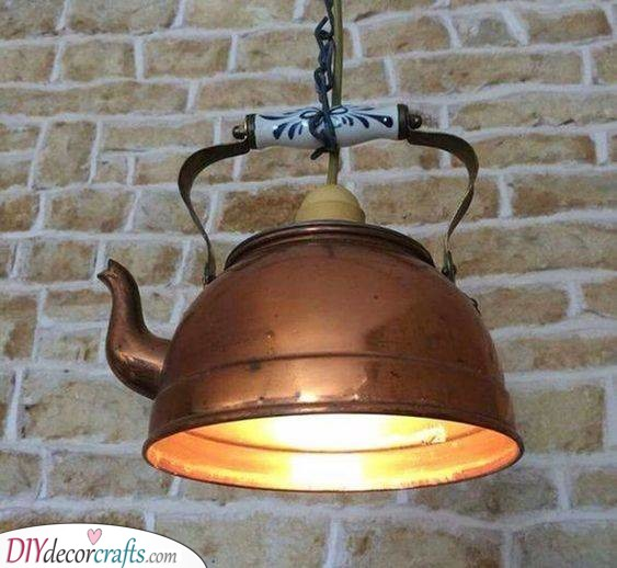 Recycle Something Old - A Rustic Ambience