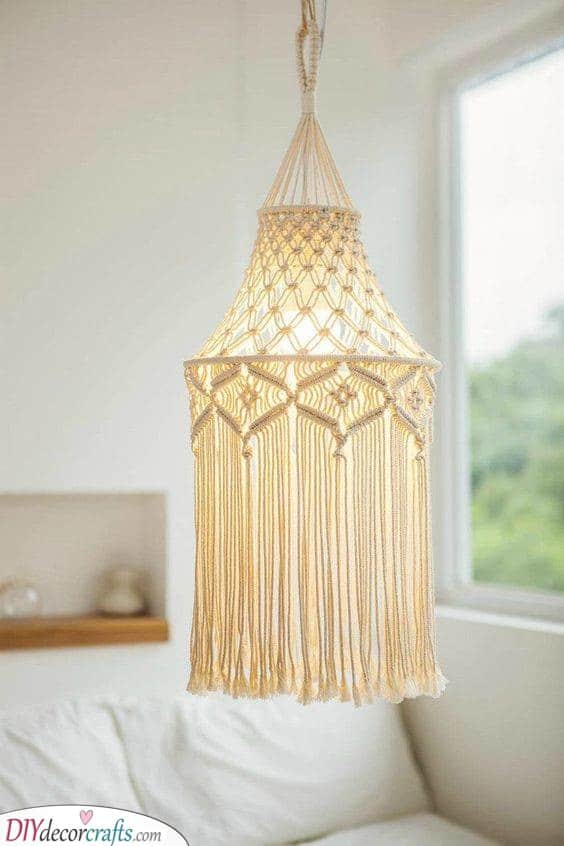 A Macrame Project - Best Lighting for Bedroom