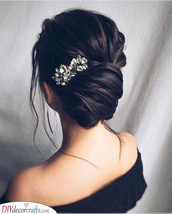 All About the Accessories - A Jewelled Hairpin