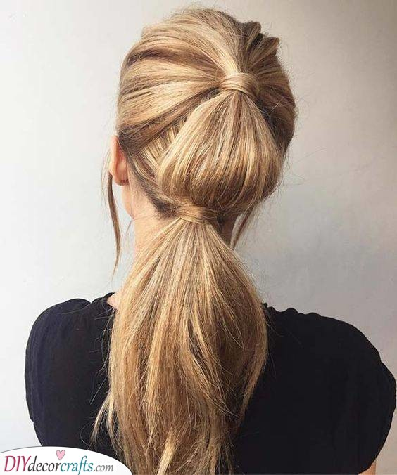 A Fashionable Ponytail - Perfect for Work