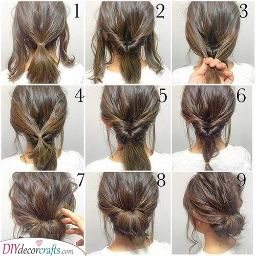 Messy and Beautiful - Trying a Messy Bun
