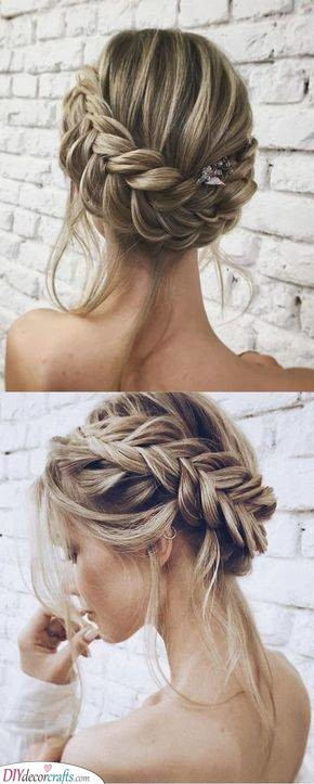 Braided All-Around - A Great Updo for Long Hair