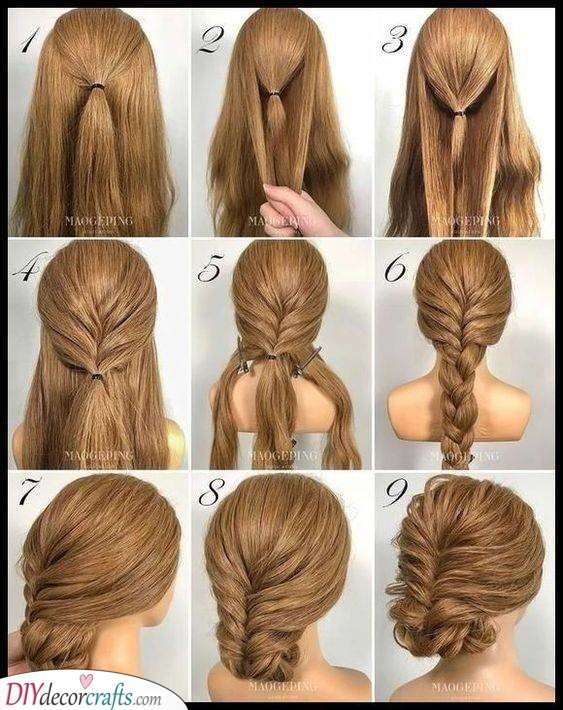 Brilliant with Braids - Easy Updos for Long Hair Step by Step
