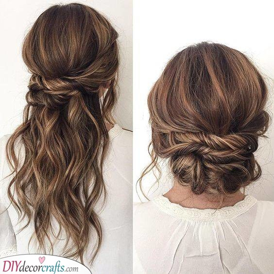 Classy and Radiant - Updo Styles for Long Hair