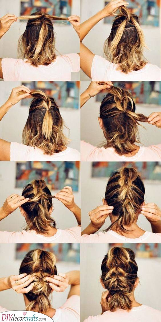 Unique and Creative - Easy Updos for Long Hair Step by Step