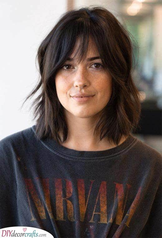 Natural Waves - Shoulder Length Hairstyles for Teens