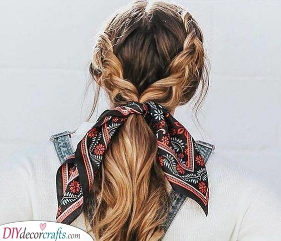 Adding a Head Scarf - Awesome Accessories