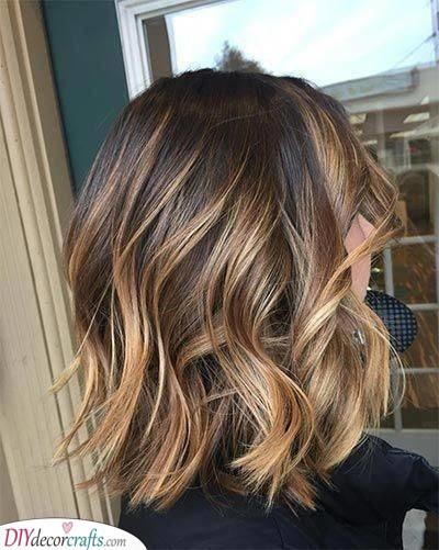 A Sunlight Brunette - A Beautiful Colour