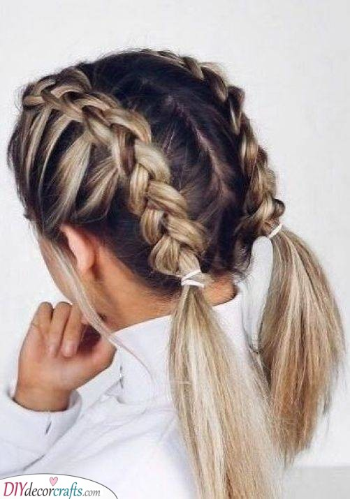 Two Beautiful Braids - Perfect for Summer