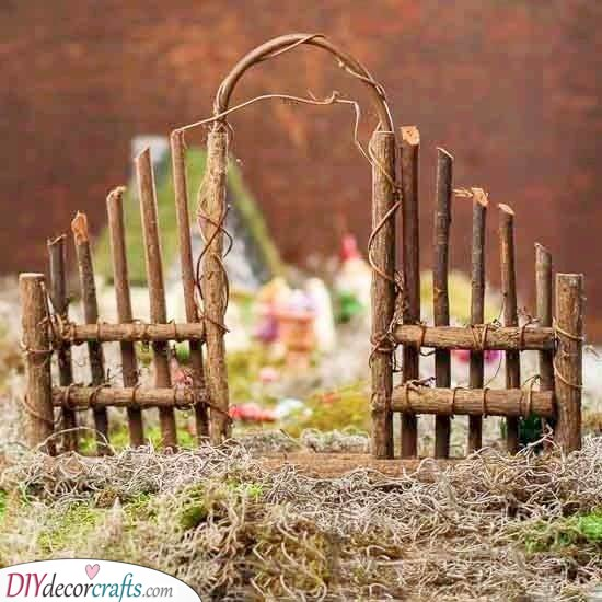 Adding a Fence - Enter the Fairy Realm