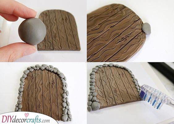 Polymer Clay - Decorate the Front Door