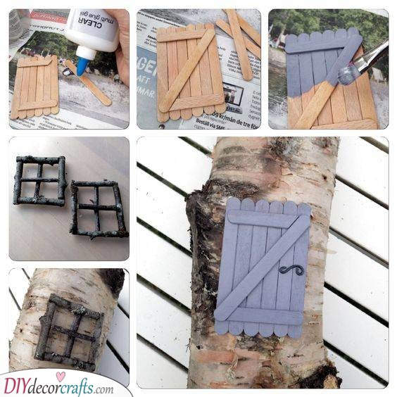 Recycling Popsicle Sticks - Cheap and Creative