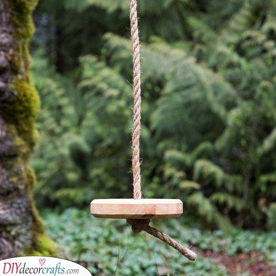 A Rope Swing - For the Playful Fairies