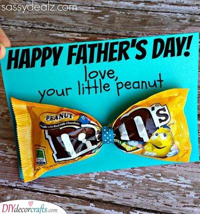 From His Peanut - Fathers Day Gift Ideas for Grandpa