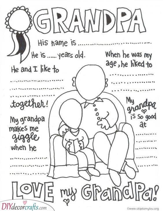 A Few Fun Facts - About Grandpa