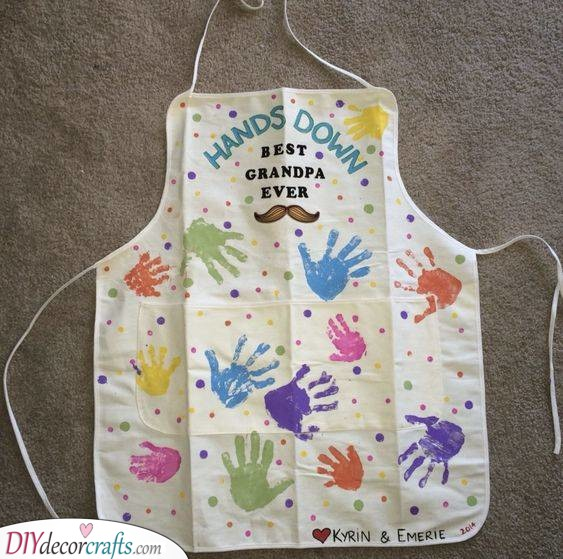 An Amazing Apron - For Grandads Who Love to Cook