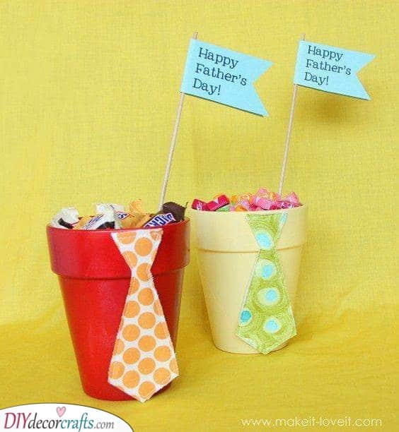Pots of Sweets - Fathers Day Gifts for Grandpa
