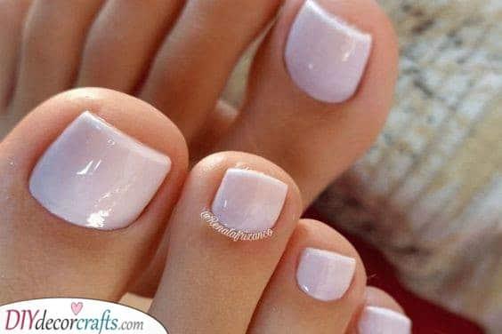 Clean and Cute - Summer Pedicure Ideas