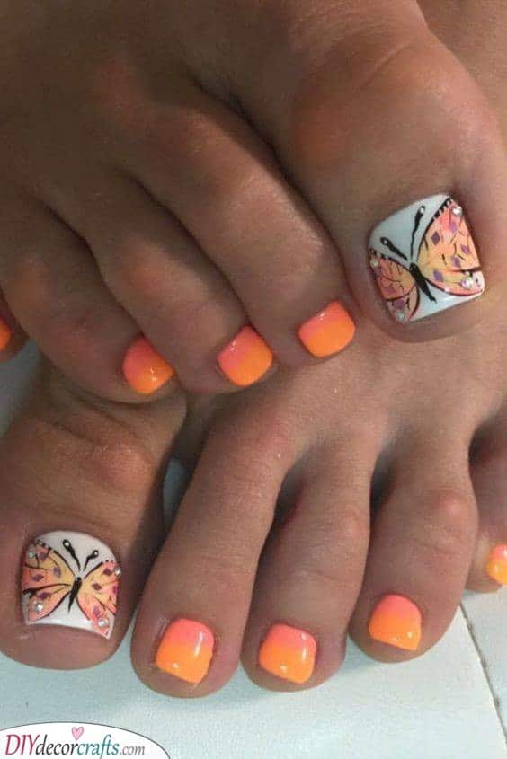 A Brilliant Butterfly - The Best Nails for the Season