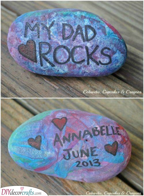 For a Dad Who Rocks - Personalised Fathers Day Gifts