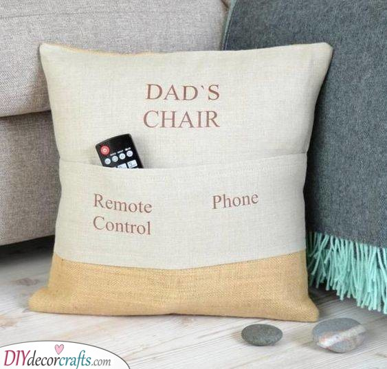 The Best Pillow - DIY Fathers Day Gift Ideas