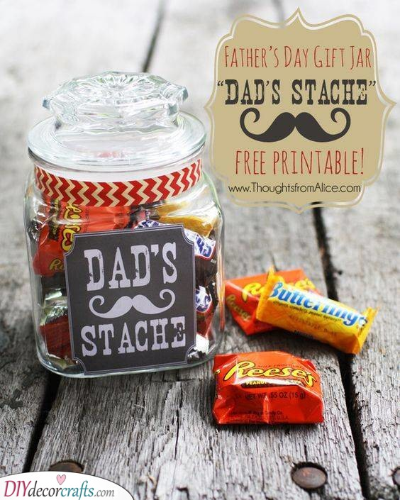 Blow a Kiss - DIY Father's Day Gift Ideas