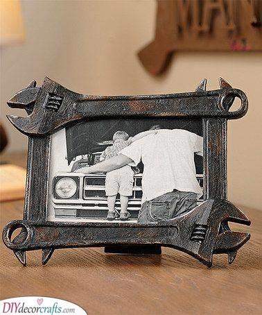 A Mechanic Frame - For a Handyman Dad