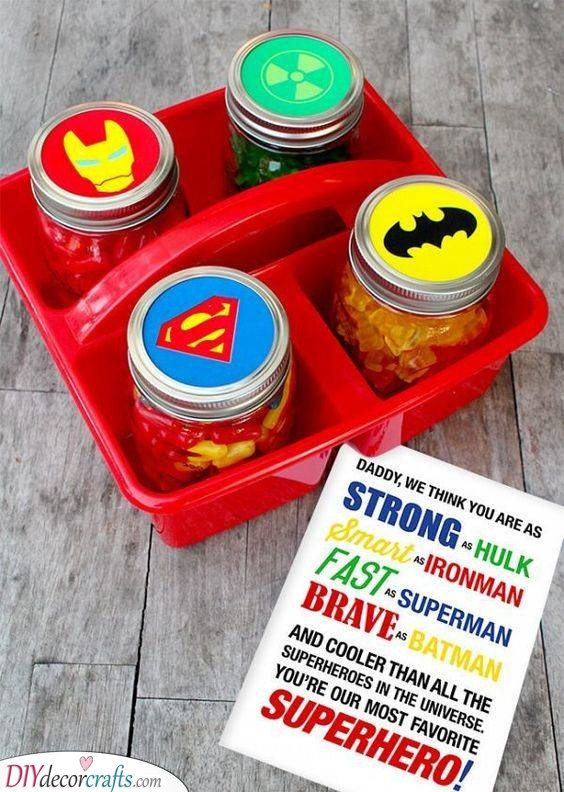 Superhero Candy - Tasty and Sugary