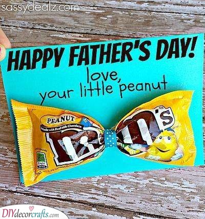 Love from a Peanut - DIY Father's Day Gift Ideas