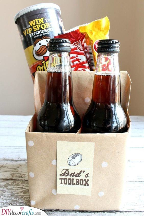 Daddy's New Tools - DIY Father's Day Gift Ideas