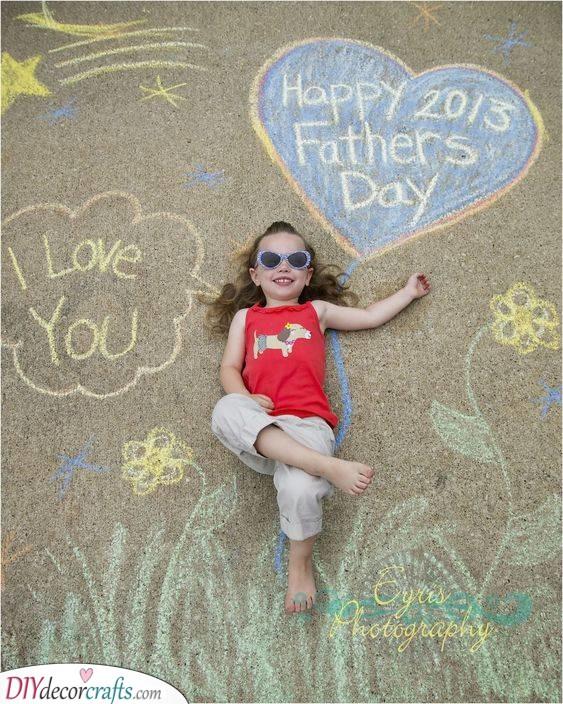A Fun Photo - DIY Father's Day Gift Ideas