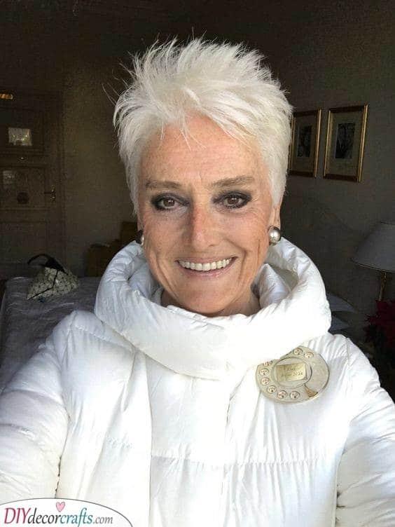 A Groovy Cut - Fabulous for Silver Hair