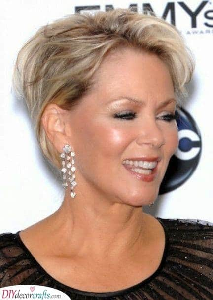 Whimsical - Short Haircuts for Women Over 50 with Fine Hair