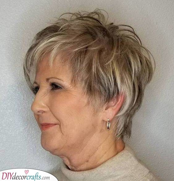 Bold and Beautiful - Short Hairstyles for Women Over 50 with Fine Hair