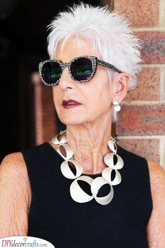 Classy and Cool - Short Hairstyles for Thin Hair Over 50