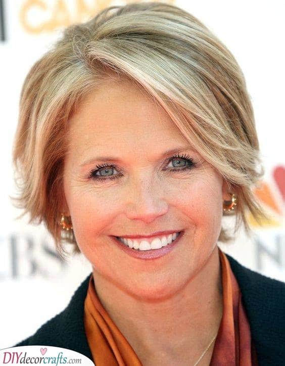 A Bob - Short Hairstyles for Women Over 50 with Thin Hair