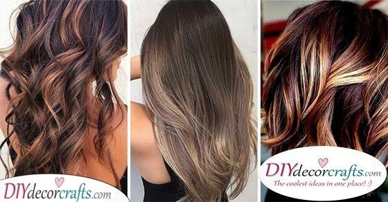 20 HAIR COLOR IDEAS FOR BRUNETTES FOR SUMMER - Summer Hair Color Ideas for Brunettes