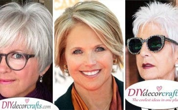 25 SHORT HAIRSTYLES FOR WOMEN OVER 50 WITH FINE HAIR - Short Hairstyles for Thin Hair Over 50