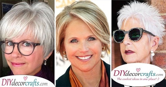 Short Hairstyles For Women Over 50 With Fine Hair For Thin Hair
