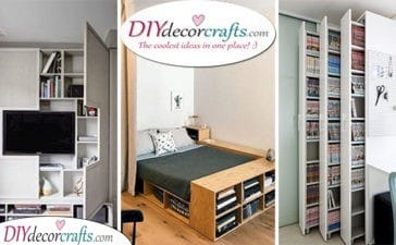 20 STORAGE IDEAS FOR SMALL BEDROOMS ON A BUDGET - Storage Solutions for Small Bedrooms