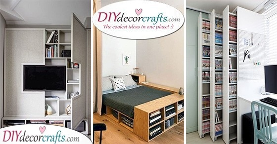 Storage Ideas For Small Bedrooms On A Budget Storage Solutions