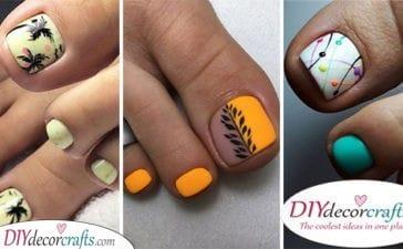 30 SUMMER PEDICURE IDEAS - Summer Toe Nail Designs